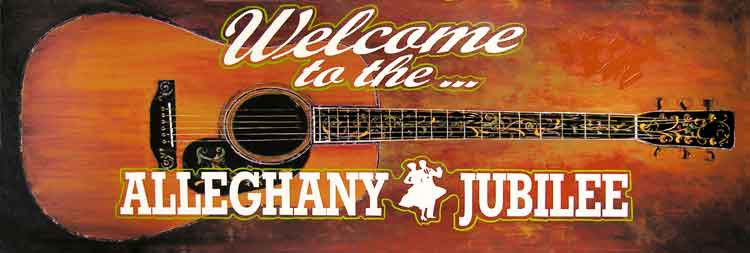 Alleghany Jubilee Welcome Sign